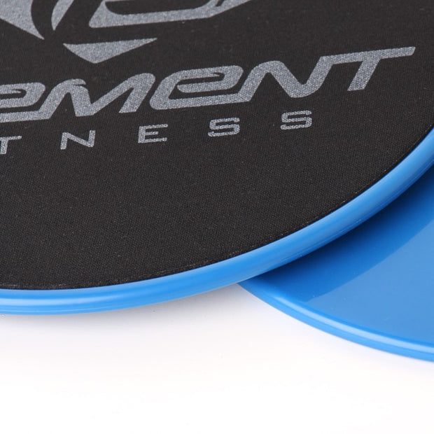 Element Fitness Pro Exercise Gliding Discs - Smooth Gliding On Any Surface - for Core Strength Training