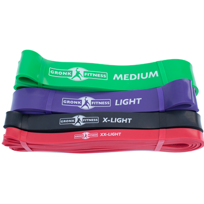Gronk Fitness Strength Bands