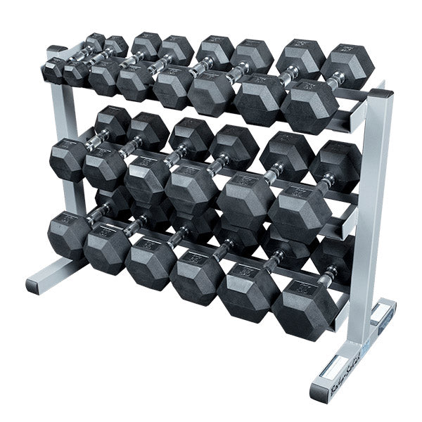 Hex Dumbbell - 5-50Lb SET with rack (Limited Quantities) - Sold Out