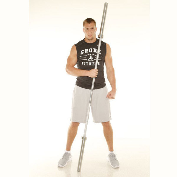 Gronk Lifting Bar - 2000lbs Test Barbell