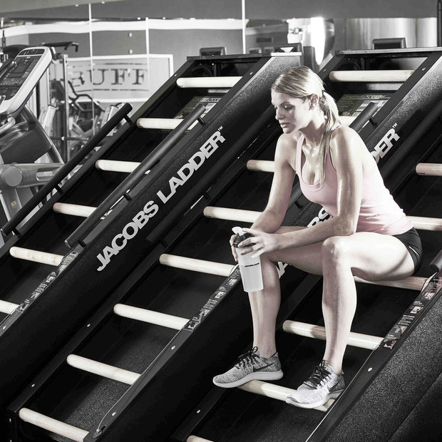 Jacobs Ladder Step Machine - Step Climber Exercise Machine for A Great Climbing Exercise and Workout - Vertical Climber and Stair Stepper - Perfect Climbing Exercise Equipment for Gym Or Home