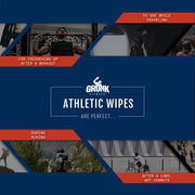 Gronk Fitness Athletic Wipes