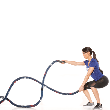 Battle Rope w/ Sleeve - 50' - 25% Off