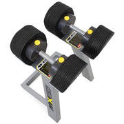 MX Select Adjustable Dumbbells with Stand 10-55lbs
