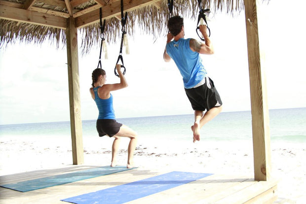 MyoKore Suspension Training System - Outdoor Workout