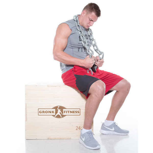 Gronk Fitness Wood Plyo Box w/Bamboo Finish