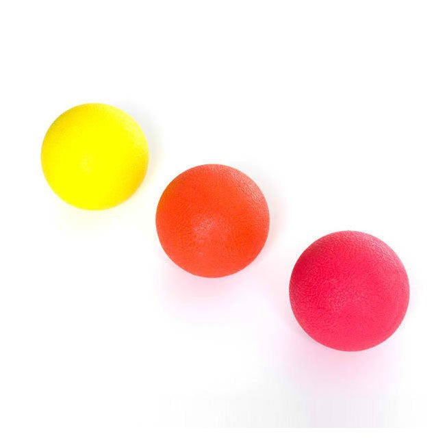 Acupressure Balls, Trigger Point Therapy - Set of 3 - TEXTURED RUBBER SURFACE