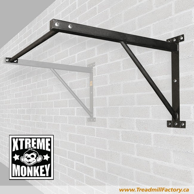 Xtreme Monkey - Add on Attachment to The Wall Mounted Chin Up/Pull Up Straight Bar