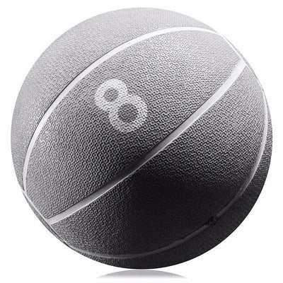 BB Fitness BeachBody Medicine Ball (8 lbs.) - Fitness Ball Perfect for Home Workout - Weight Ball for Home Gym, Slam Balls for Workout, Home Gym Accessories - Adds Resistance & Fun to Workout