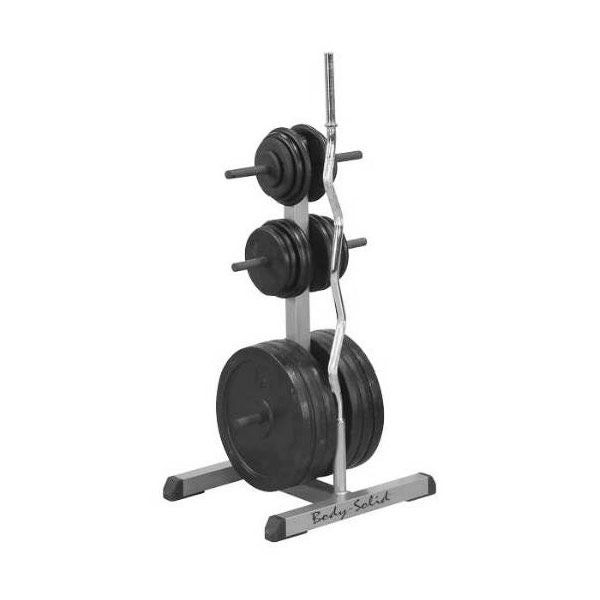 Body-Solid GSWT Standard Plate Tree & Bar Holder