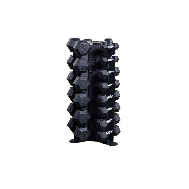 Body Solid GDR80 Vertical Dumbbell Rack - DUMBBELLS NOT INCLUDED