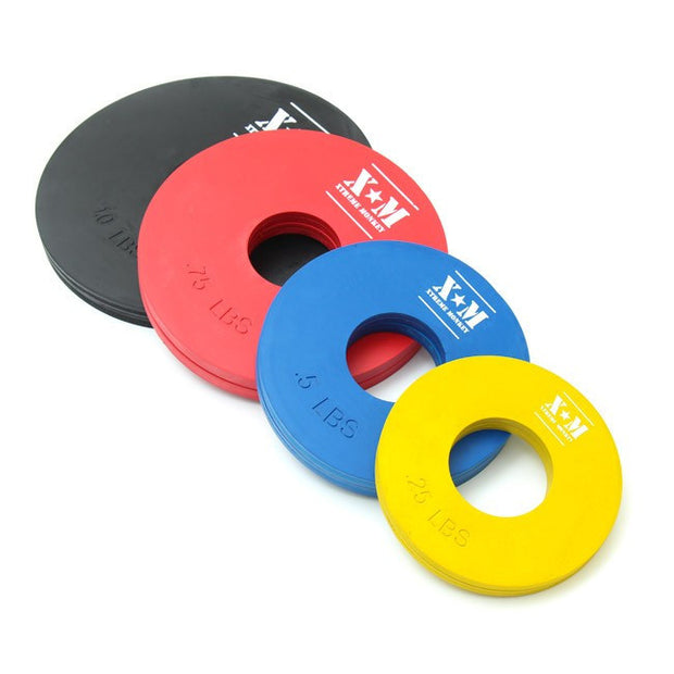 Fractional Weight Plates - Rubber - Competition