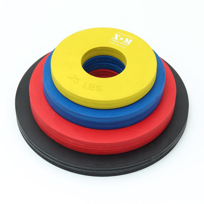 Rubber Fractional Weight Plates