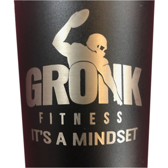 Ice Shaker Gronk Fitness Edition - Black w/Removable Agitator