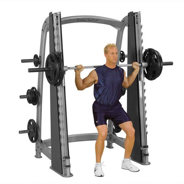 Pro Club Line Counter-Balanced Smith Machine BS-SCB1000