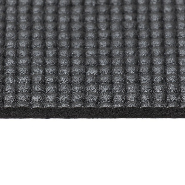 5mm Black Yoga Mat - close up