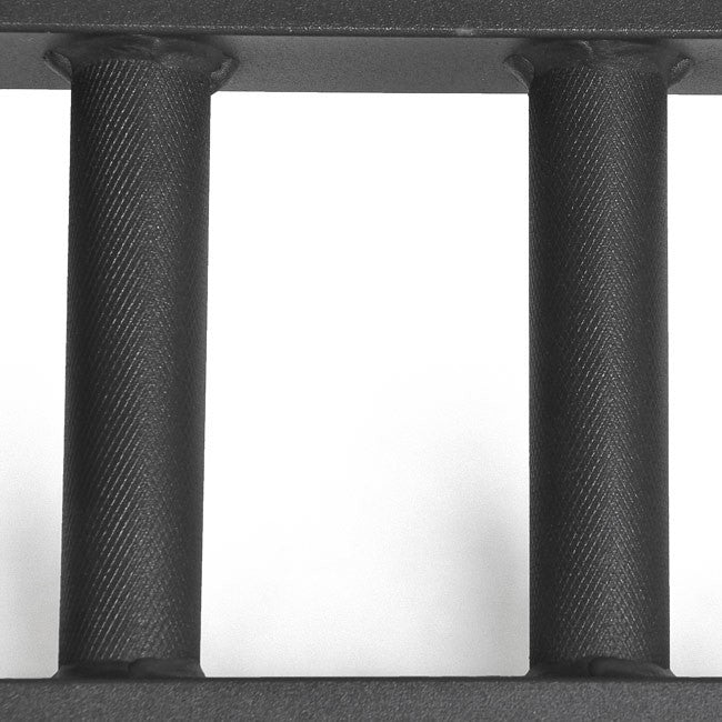 Black Steel Swiss Bar Straight - Handles