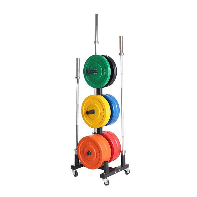 Xtreme Monkey Olympic Bumper Plate Holder W/Wheels