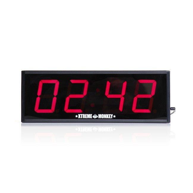 wall mounted interval timer gronk fitness products