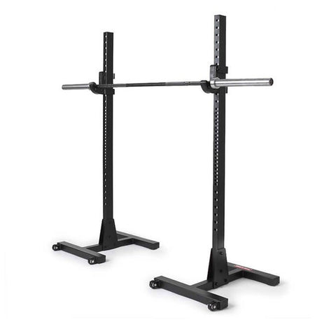 Commercial H-Base Squat Stands
