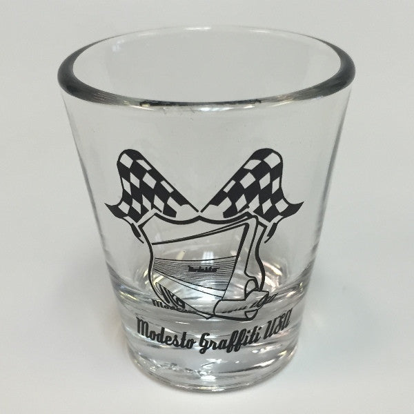 Cruise Badge Tapered Shot Glass