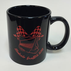 Black Cruise Badge Mug