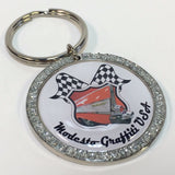 Bling Cruise Badge Keychain