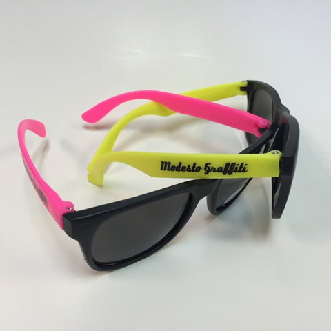 Neon Graffiti Sunglasses