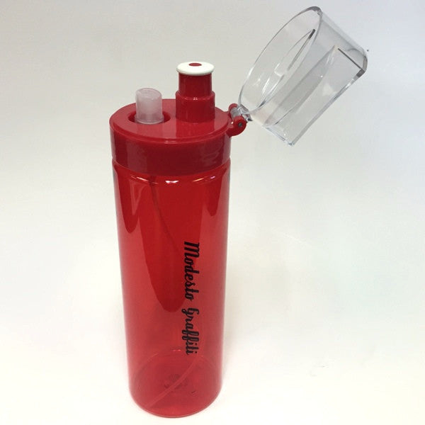 Modesto Graffiti Spritzer Water Bottle