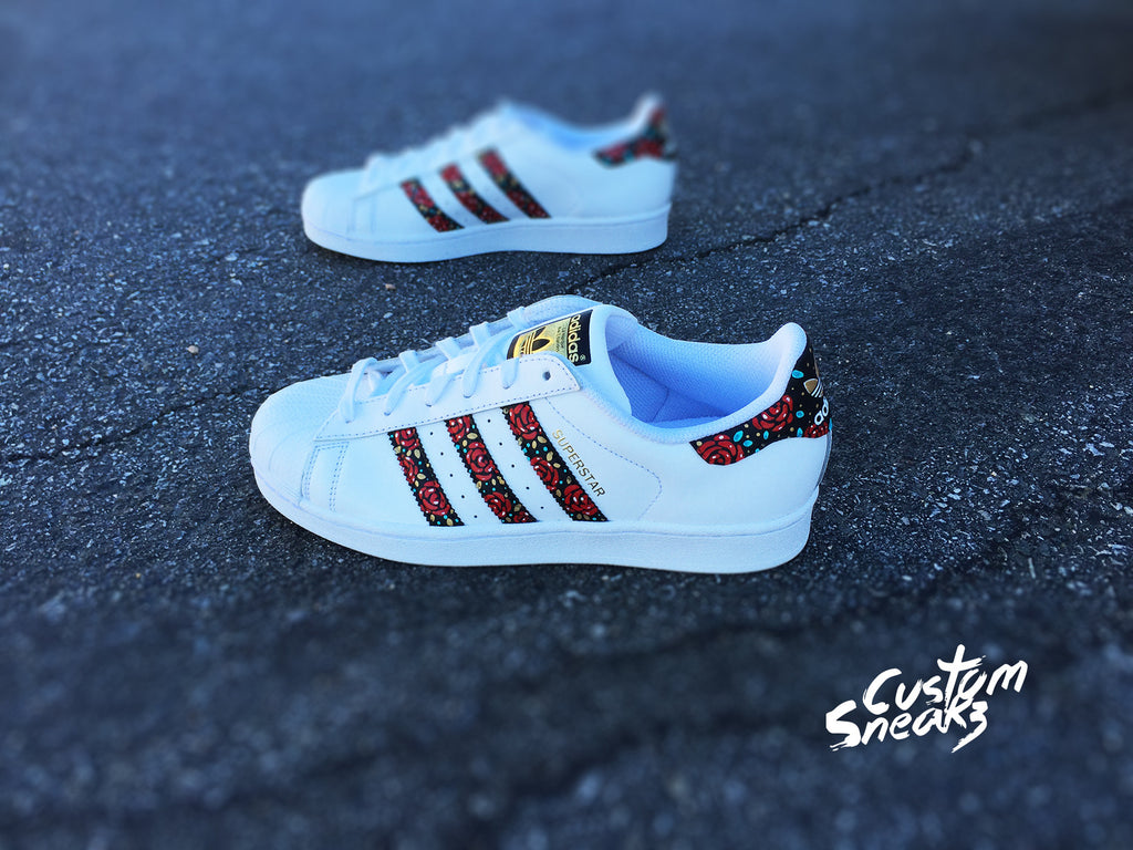 Wonderlijk Custom Adidas Superstar for men and women, Adidas custom Hand DQ-59