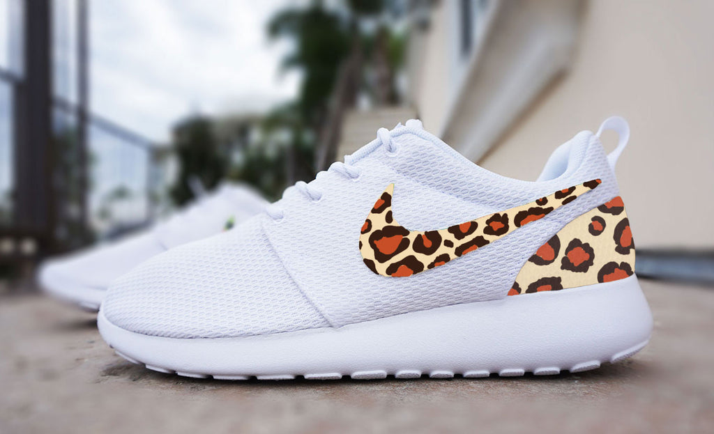 free shipping 16ef8 f0b70 Womens Custom Nike Roshe Run sneakers, cheetah print, animal print des –  CustomSneakZ