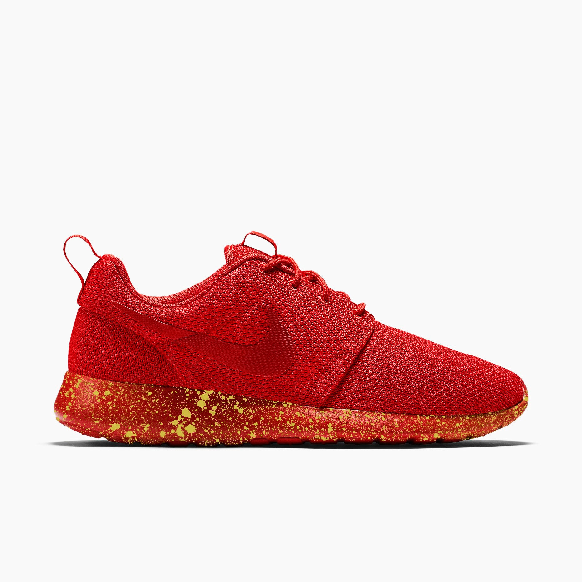 purchase cheap 2f5bb 4a2df ... mens nike roshe run triangle red gold ...