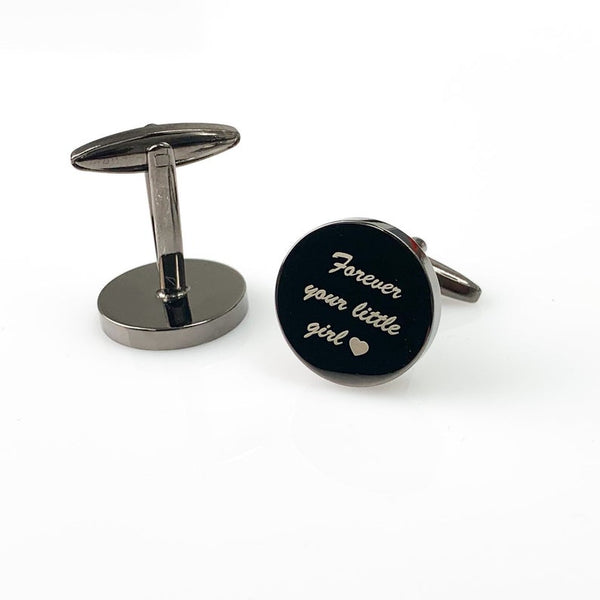Gun metal Cuff Links