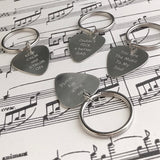 Guitar Pick Photo Engraved