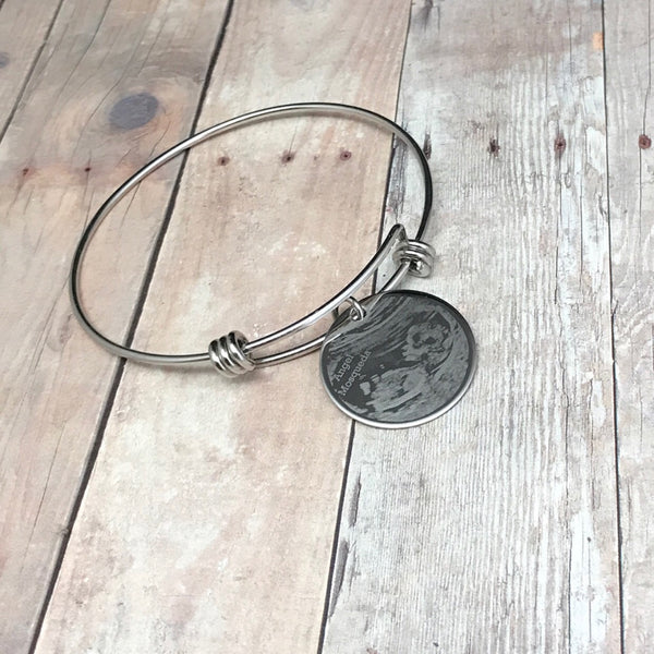 Photo Engraved Bangle