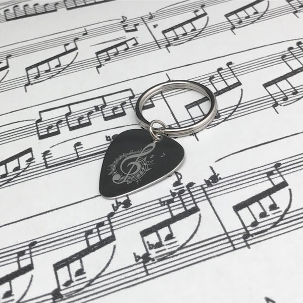Guitar Pick Music Notes