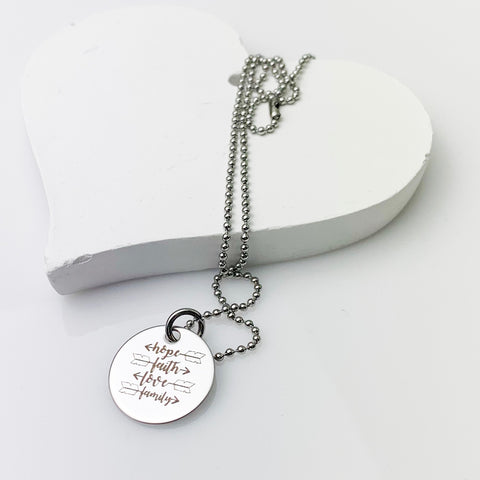 """I am..."" Necklace"