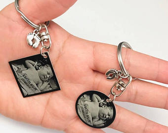 His & Hers Keychain Set
