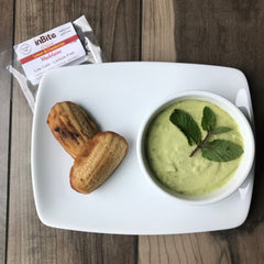 GF Madelaines w/Avocado Ice Cream