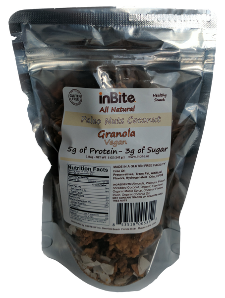 Paleo Coconut Granola - 1 Bag (4.23 oz)