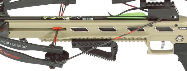 Crossbow with adjustable rail X-Force® Advantex™ Ready-to-Hunt Kit
