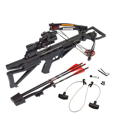 Carbon Express Intercept Varmint Hunter complete crossbow kit / combo