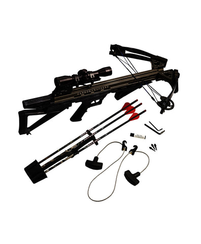 Intercept Supercoil® LT Crossbow Ready-to-Hunt Kit, Crossbow Carbon Express