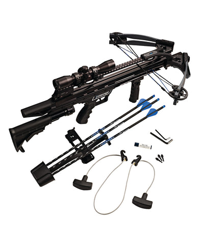 Intercept Axon® LT Crossbow Ready-to-Hunt Kit, Crossbow Carbon Express