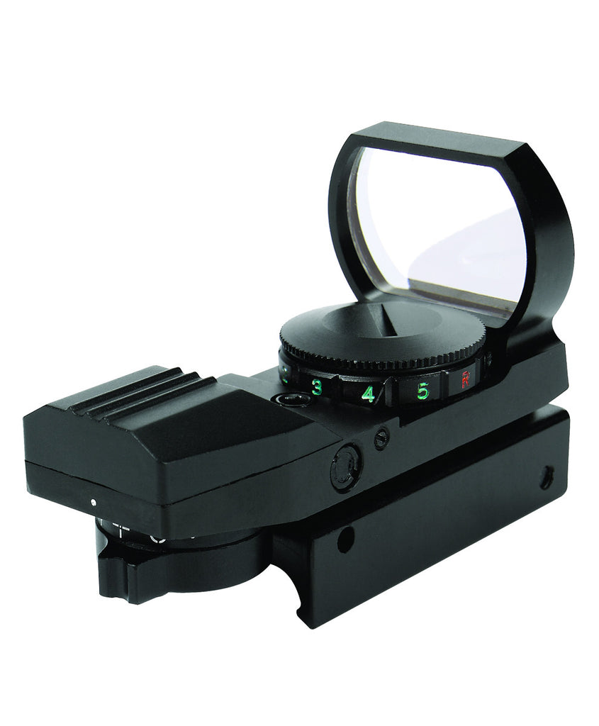 REFLEX MULTI-RETICLE RED DOT SIGHT, Optics Carbon Express