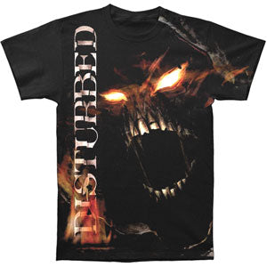 Disturbed Men's  Outrage T-shirt Black