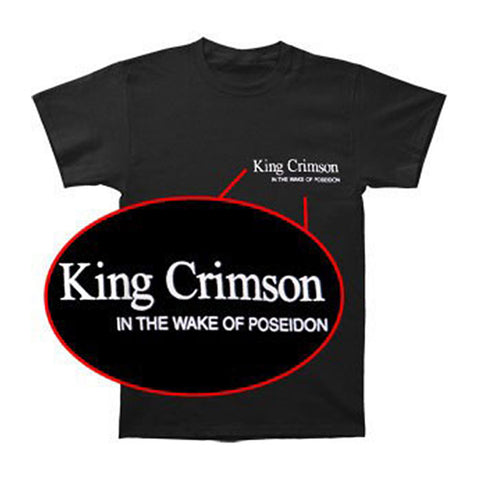 King Crimson Men's  In The Wake Of Poseidon T-shirt Black
