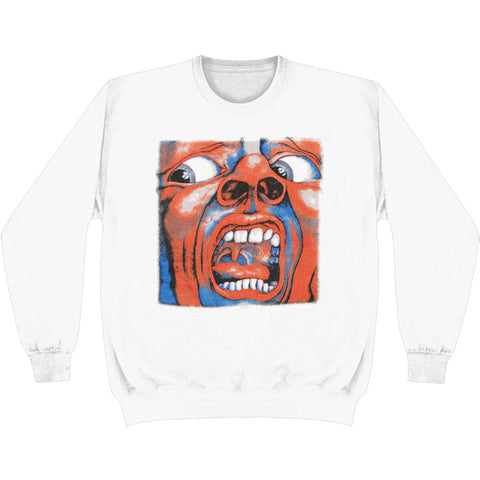 King Crimson Men's  Schizoid Sweatshirt White