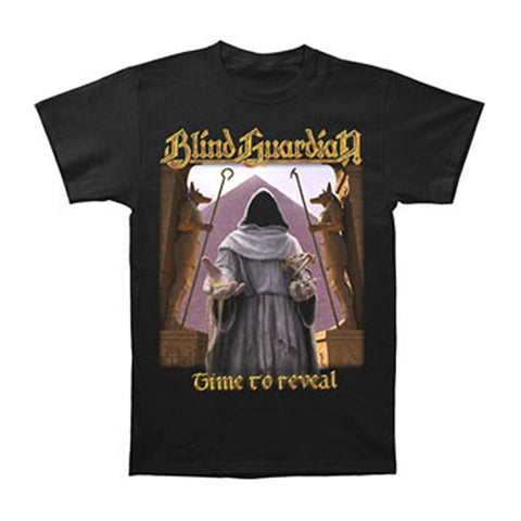 Blind Guardian Men's  Time To Reveal T-shirt Black
