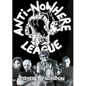 Anti Nowhere League Import Poster